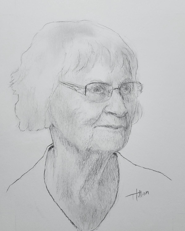 Gertrude - Les visages de notre histoire ©Tania Hillion