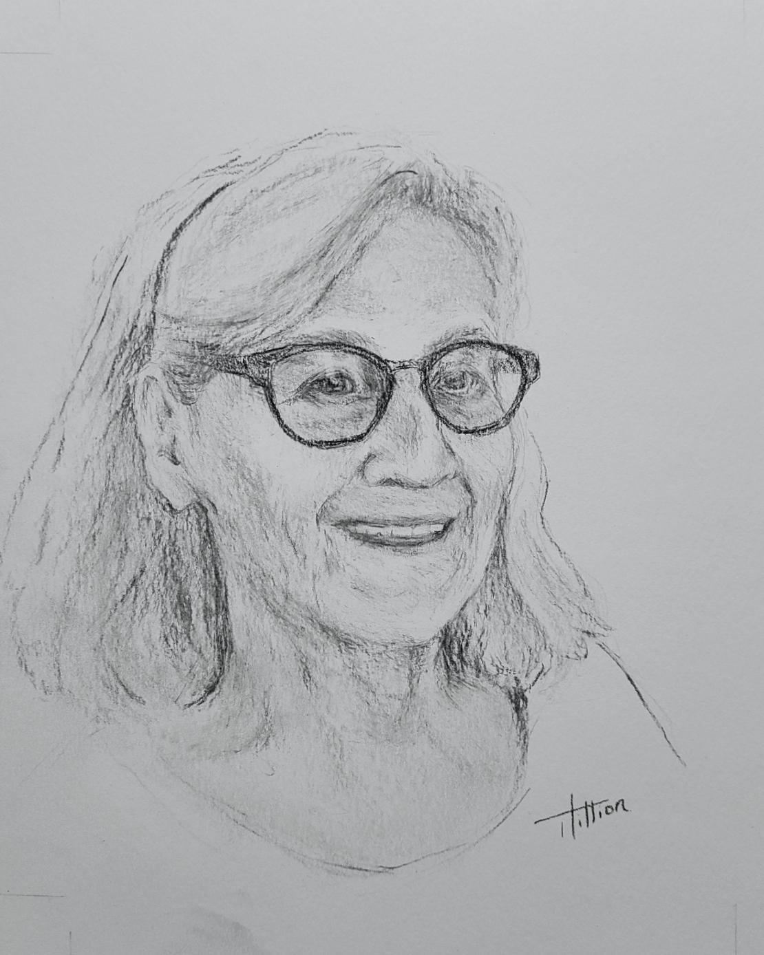 Thérèse - Les visages de notre histoire ©Tania Hillion