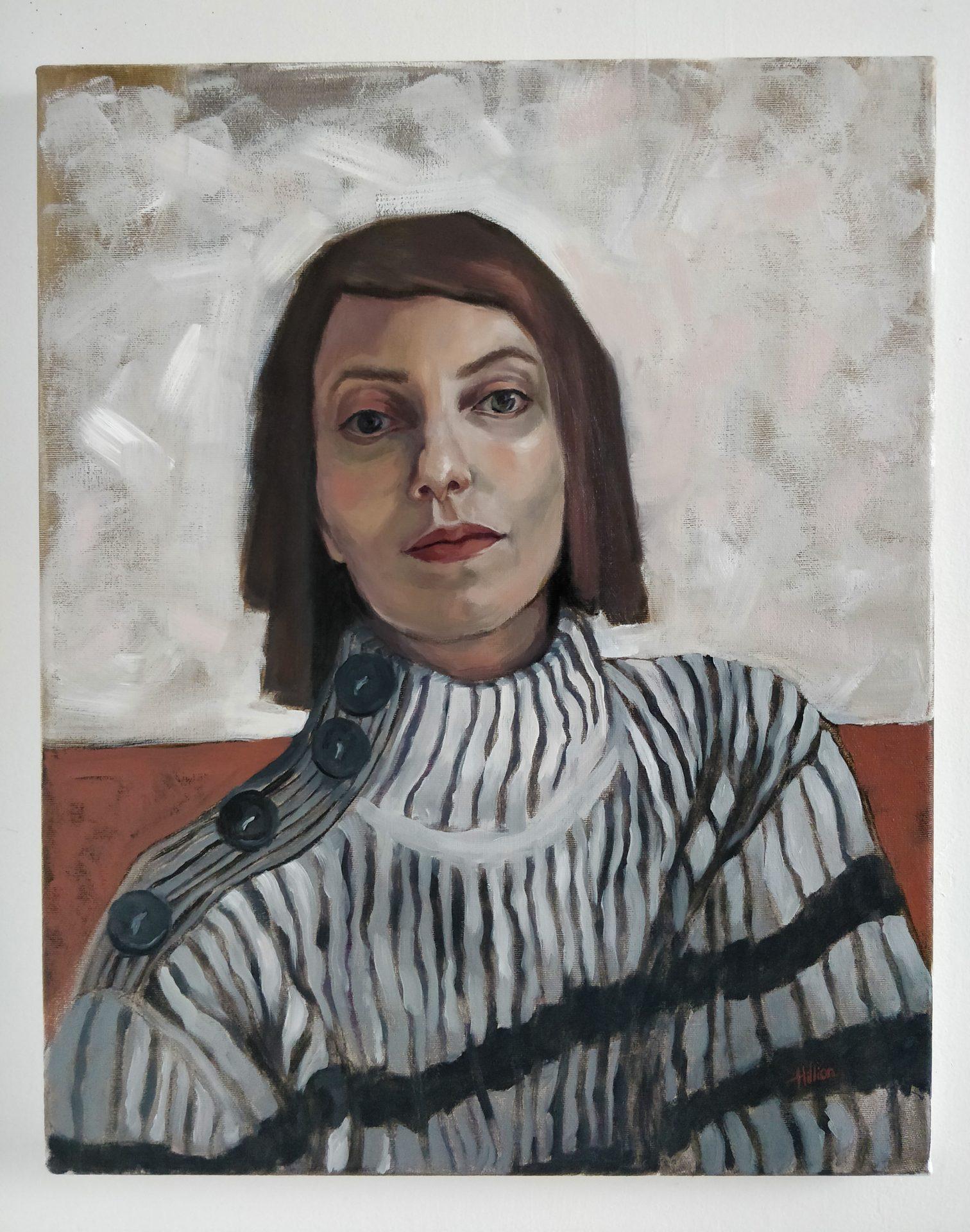 Tania Hillion autoportrait