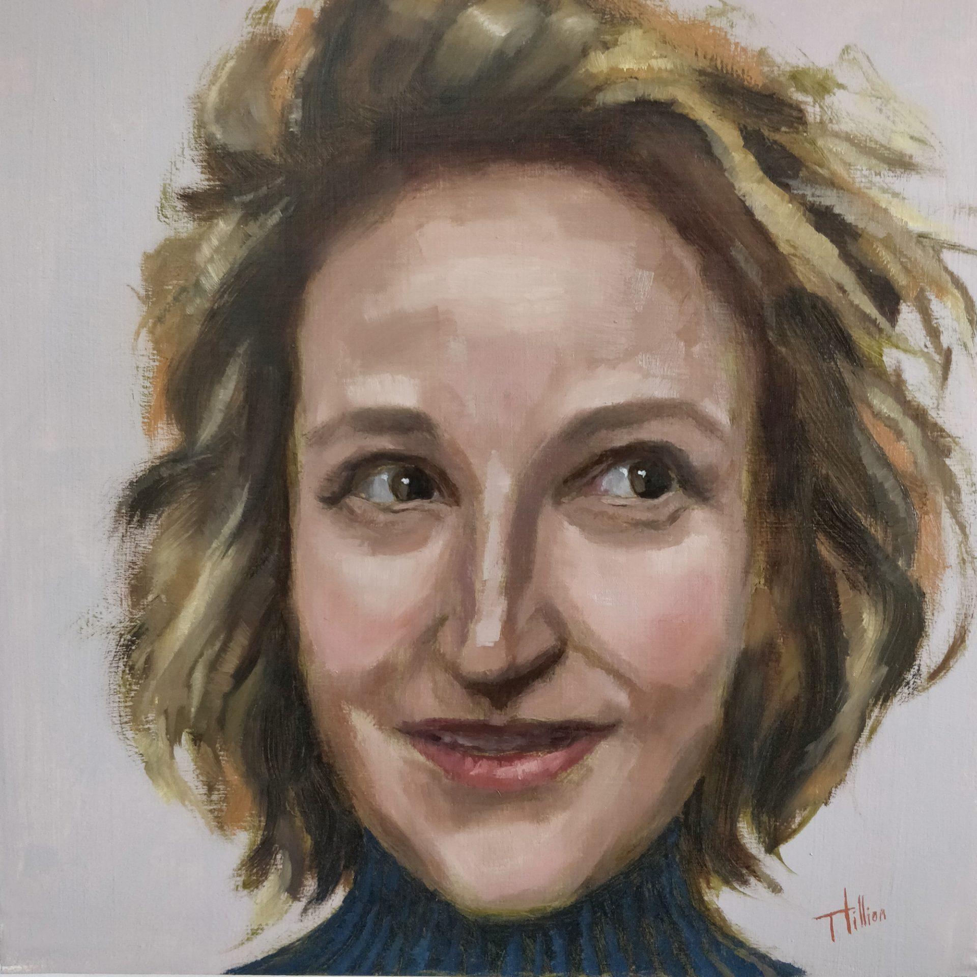 Camille Moingeon portrait by Tania Hillion