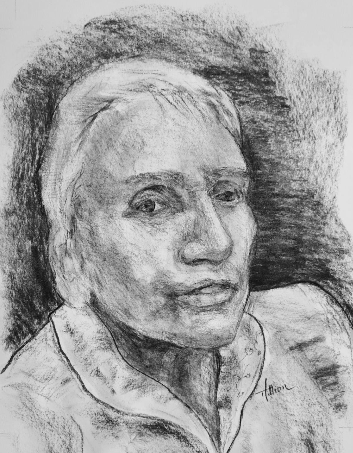 Cécile - Les visages de notre histoire ©Tania Hillion
