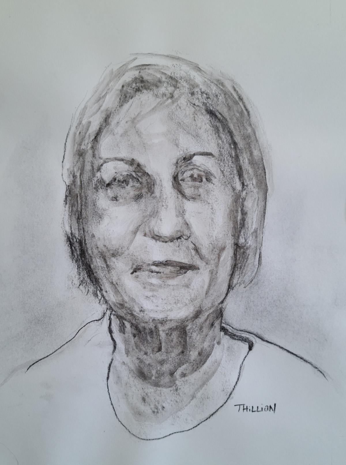 Christiane - Les visages de notre histoire ©Tania Hillion